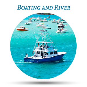 boating and river vero beach